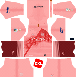 Barcelona Dls/Fts Kits and Logo 2018-2019