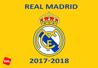 Real Madrid Dls/Fts Kits and Logo 2017-2018