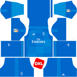 Real Madrid Dls/Fts Kits and Logo 2018-2019
