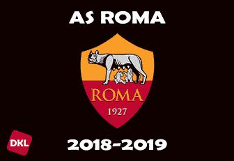 AS Roma 2018-2019 Dls Kits/Logo - Dream League Soccer