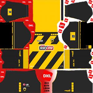 AEK F.C 2019-2020 Dls/Fts Kits and Logo Home - Dream League Soccer