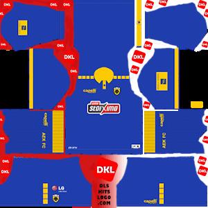AEK F.C 2019-2020 Dls/Fts Kits and Logo Third - Dream League Soccer