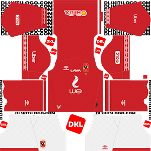 Al Ahly SC 2019-2020 DLS/FTS Kits and Logo - Dream League Soccer