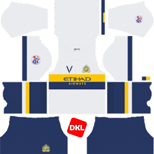 Al-Nassr FC 512x512 Dls/Dream League Soccer Kits and Logo Away ACL - 2019-2020 Dream League Soccer