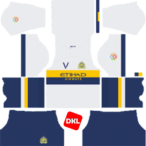 Al-Nassr FC 512x512 Dls/Dream League Soccer Kits and Logo Away- 2019-2020 Dream League Soccer
