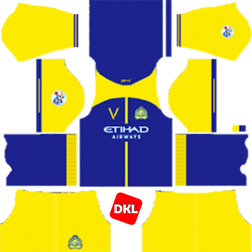 Al-Nassr FC 512x512 Dls/Dream League Soccer Kits and Logo Home - 2019-2020 Dream League Soccer