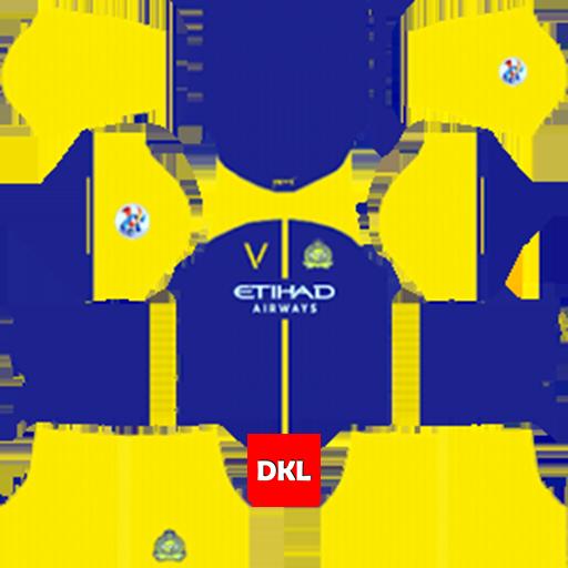 Al-Nassr FC 512x512 Dls Kits and Logo 2019-2020 - Dream