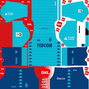 AS Monaco FC 2019-2020 Dls/Fts Kits and Logo Third - Dream League Soccer