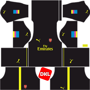 Arsenal Dls/Fts Kits and Logo Third - 2016-2017 Dream League Soccer