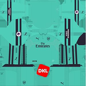 Arsenal F.C Dls/Fts Kits and Logo Third - 2018-2019 Dream League Soccer