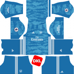 Arsenal Dls/Fts Kits and Logo GK Away - 2019-2020 Dream League Soccer