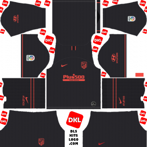 Atletico Madrid 2019-2020 Dls/Fts Kits and Logo Away - Dream League Soccer