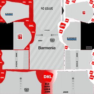 Bayer Leverkusen 2019-20 Dls/Fts Kits and Logo Third - Dream League Soccer