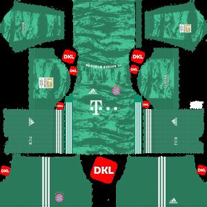 Bayern Munich 2019-2020 Dls/Dream League Soccer GK Home - Dream League Soccer