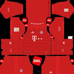 Bayern Munich 2019-2020 Dls/Dream League Soccer Home - Dream League Soccer