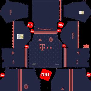 Bayern Munich 2019-2020 Dls/Dream League Soccer Third - Dream League Soccer