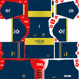 Boca Juniors 2019-2020 DLS/FTS Kits and Logo