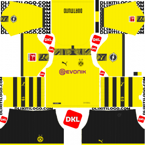 Borussia Dortmund 2019-2020 Dls/Dream League Soccer Home - Dream League Soccer