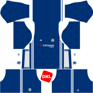 Chelsea Dls/Fts Kits and Logo Home - 2016-2017 Dream League Soccer