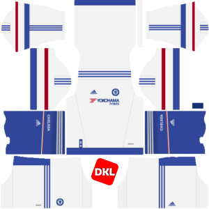 Chelsea Dls/Fts Kits and Logo Third - 2016-2017 Dream League Soccer