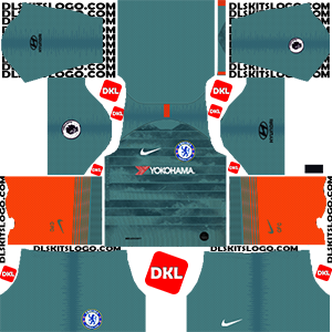 Chelsea Dls/Dream League Soccer Kits and Logo Third- 2019-2020 Dream League Soccer
