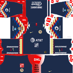 Club America 2019-2020 Dls/Fts Kits and Logo Away - Dream League Soccer