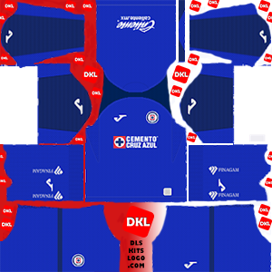 Cruz Azul 2019-2020 Dls/Fts Kits and Logo Home - Dream League Soccer