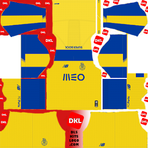 FC Porto 2019-2020 Dls/Fts Kits and Logo Away - Dream League Soccer