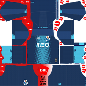 FC Porto 2019-2020 Dls/Fts Kits and Logo Third - Dream League Soccer