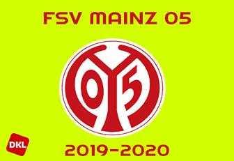 Mainz 05 Wandcover Logo 40cm