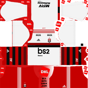 Flamengo 2019-20 Dls/Fts Kits and Logo Away - Dream League Soccer