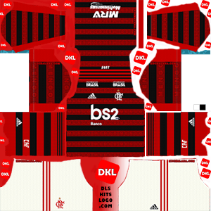 Flamengo 2019-20 Dls/Fts Kits and Logo Home - Dream League Soccer