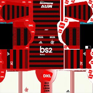 Flamengo 2019-20 Dls/Fts Kits and Logo Home - Dream League Soccer