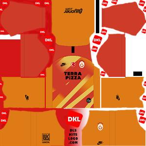 Galatasaray 2019-2020 DLS Forma Kits Logo kaleci3- Dream League Soccer