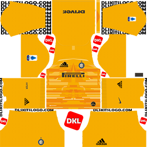 Inter Milan Adidas 2019-2020 Dls GK Home - Dream League Soccer
