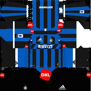 factory price 55e88 4430b Inter Milan Adidas 2019-2020 Dls Kits/Logo - Dream League Soccer