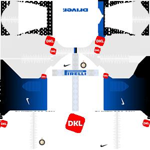 Inter Milan Dls/Dream League Soccer Kits and Logo Away - 2018-2019 Dream League Soccer
