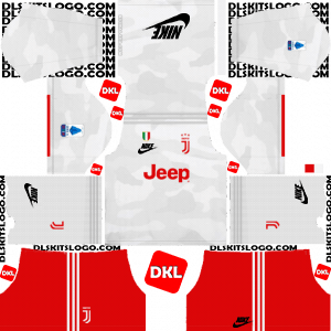 Juventus Nike 2019-2020 Dls Kits and Logo