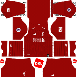 Liverpool F.C Dls/Dream League Soccer Kits and Logo Home - 2018-2019 Dream League Soccer