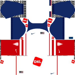 Malaysia Nike Dls/Fts Kits and Logo Away- 2019 Dream League Soccer