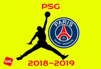 Paris Saint Germain Psg 2018 2019 Jordan Dls Kits Logo Dlskitslogo