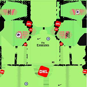 Paris Saint-Germain(PSG) 2018-2019 Dls/Dream League Soccer Kits and Logo GK Away - Dream League Soccer