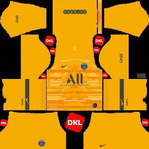 Paris Saint-Germain(PSG) 2019-2020 Dls Kits and Logo