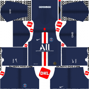 PSG Dls/Dream League Soccer Kits and Logo Home - 2019-2020 Dream League Soccer