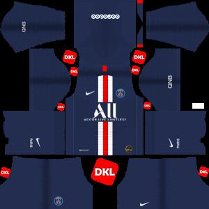 Paris Saint-Germain(PSG) Dls/Dream League Soccer Kits and