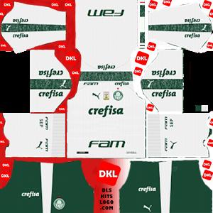 Palmeiras 2019-20 Dls/Fts Kits and Logo Away - Dream League Soccer