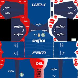 Palmeiras 2019-20 Dls/Fts Kits and Logo GK Home - Dream League Soccer