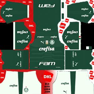 Palmeiras 2019-20 Dls/Fts Kits and Logo Home - Dream League Soccer