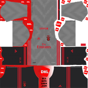 S.L. Benfica 2019-2020 Dls/Fts Kits and Logo Away - Dream League Soccer