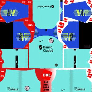 San Lorenzo 2019-20 Dls/Fts Kits and Logo GK Away - Dream League Soccer